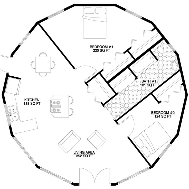 Dome Home Plans With Basements: 17 Best Images About Yurt On Pinterest