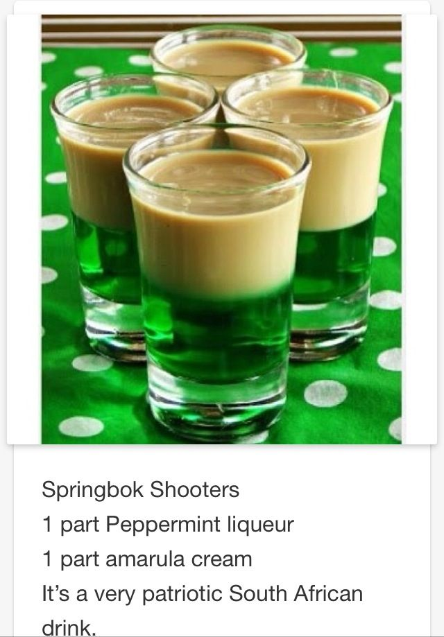 Springbok Shooters # Tipsy Bartender