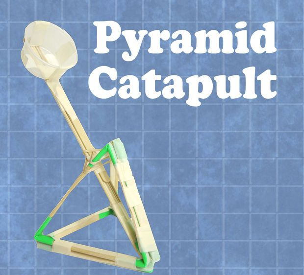 A bunch of craft stick and rubberband items that fly, shoot, glide - simple machines for kids