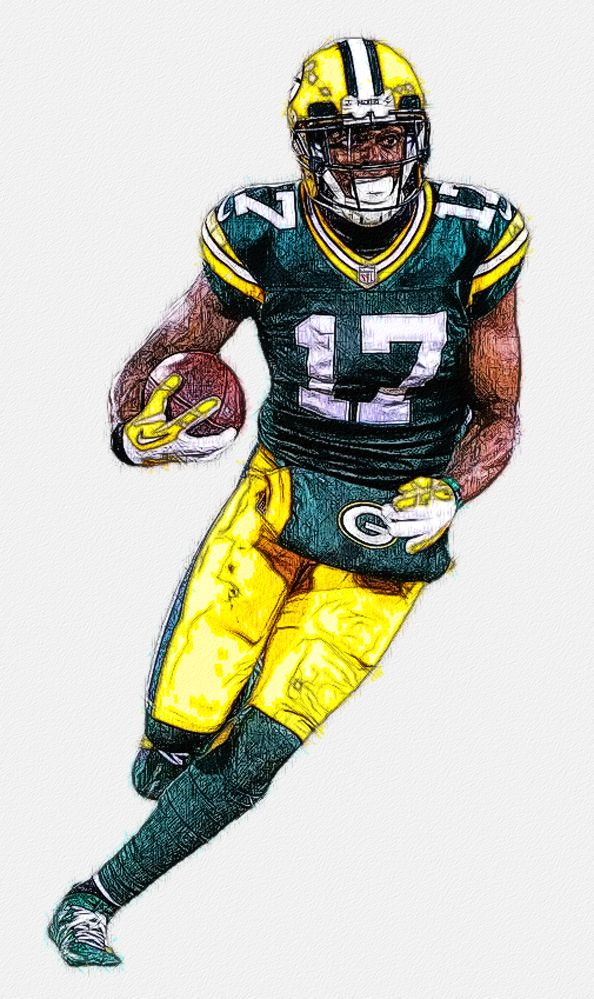 Davante Adams Packers Wr Green Bay Packers Pictures Green Bay Packers Art Green Bay Packers
