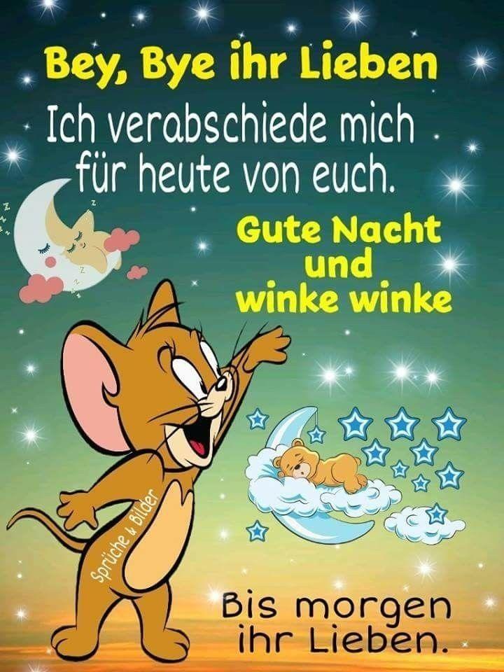 Pin von Auguste Kluge auf goodnight   Gute nacht, Gute