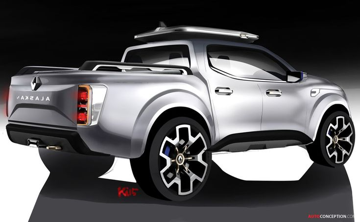 Pictures Of Future Trucks: Renault 'Alaskan' Concept