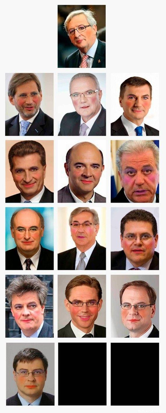 Una Comisión Europea copada por hombres : Sólo cuatro países de 28 han propuesto una mujer / Daniel Basteiro + ElHuffPost   #readytocrackglassceilings #readyforeurope
