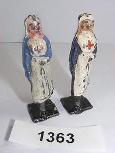 Vintage Johillco Lead 'Soldiers' Small Nurses Similar to Britains 1363 | eBay
