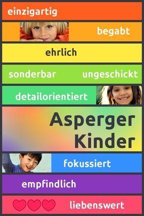 Asperger-Kinder: Einzigartig, begabt, ehrlich, sonderbar, detailorientiert, ungeschickt, fokussiert, empfindlich, liebenswert. Erfahre mehr über die Charakteristika von Kindern mit Asperger-Syndrom!