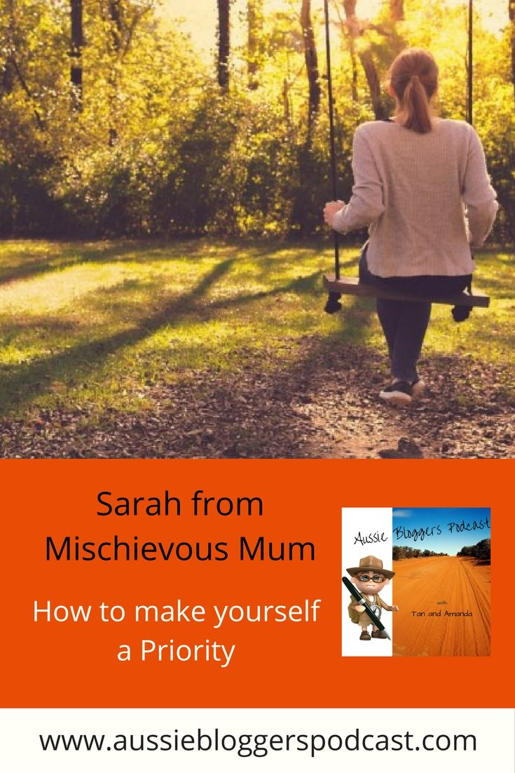 Sarah from Mischievous Mum has reminded us mums leading into the school holidays with an important message. How to make yourself a priority. http://www.mischieviousmum.com/how-to-make-yourself-a-priority/