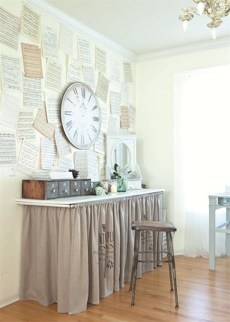 Love the table Skirt/ farmhouse look. This has been on my to do list for weeks! <3 this!