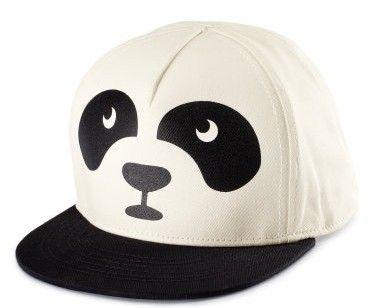Funky panda caps.