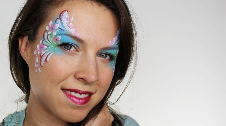 Flower Fairy Face Painting Tutorial