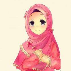Gambar Kartun Wanita Muslimah 2017