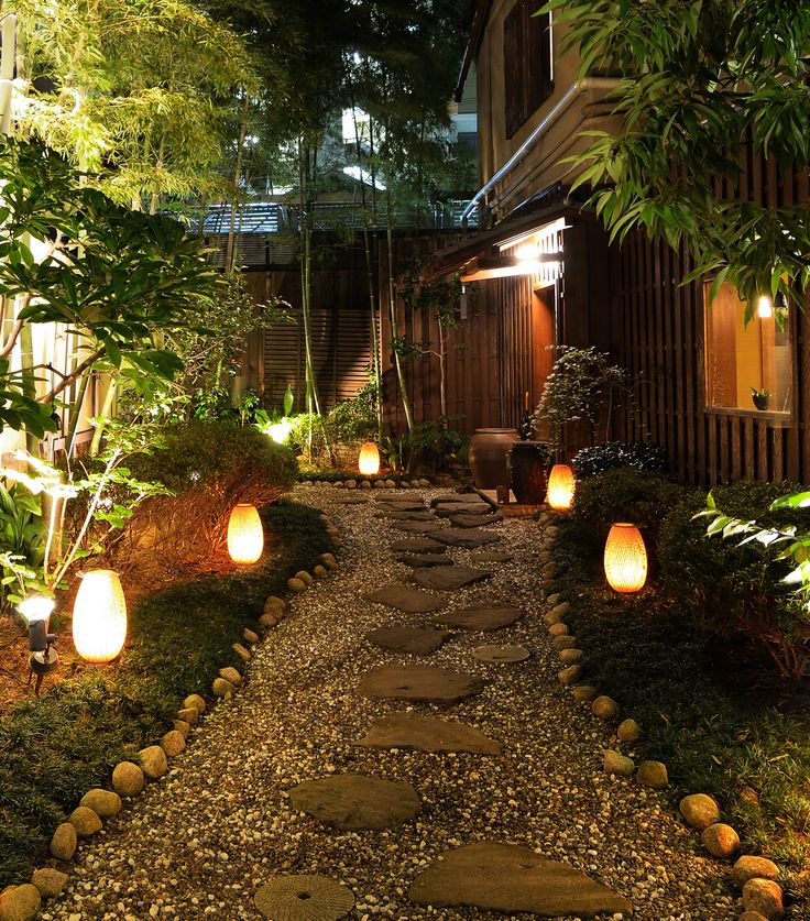 Light Up the Night 10 Enchanting Landscape Lighting Solutions : garden lighting solutions - azcodes.com