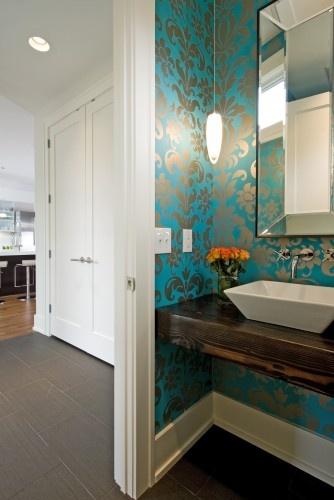 25 Best Ideas About Modern Powder Rooms On Pinterest