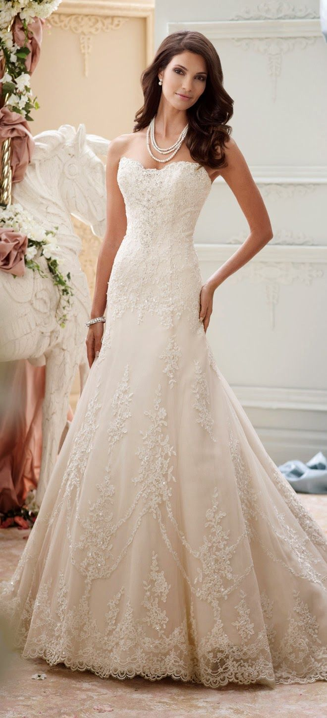 1212 best Wedding Dresses images on Pinterest | Homecoming dresses ...