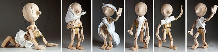 ANY the training marionette | Czech Marionettes