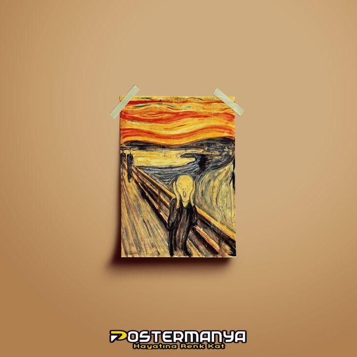 Sanatsal tablolar ve posterler Postermanya'da :)) #evdekorasyonu #dekorasyonfikirleri #dekorasyonönerileri #postermanya #poster #afiş #desing #tablo #duvardekoru #wall #homedesign #sevgiliyehediye #tablo #posters #tasarım #dekorasyon #canvas #kanvas #kanvastablo #hediye #hediyelik #çığlık #tablosu