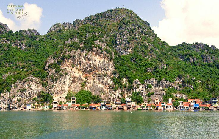 View in Bai Tu Long Bay #HalongBay #scenery