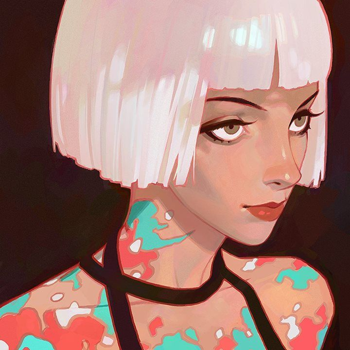 Art by Ilya Kuvshinov* • Blog/Website | (www.kr0npr1nz.tumblr.com) • Online Store | (www.society6.com/kr0npr1nz) ★ || CHARACTER DESIGN REFERENCES (pinterest.com/characterdesigh) • Do you love Character Design? Join the Character Design Challenge! (link→ www.facebook.com/groups/CharacterDesignChallenge) Share your unique vision of a theme every month, promote your art, learn and make new friends in a community of over 13.000 artists who share your same passion! || ★