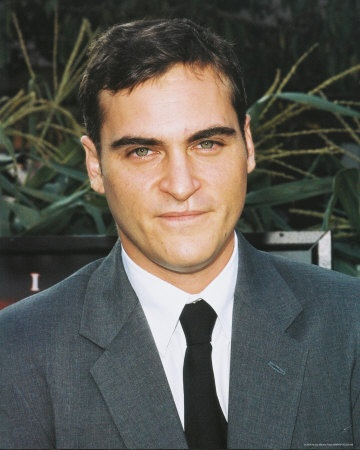 Joaquin Phoenix - Actor. The late River Phoenix's brother and also good friend of Johnny Depp. (Im in love with the birthmark usually mistaken for a scar on his upper lip) Imperfections and flaws are what make people beautiful to me.