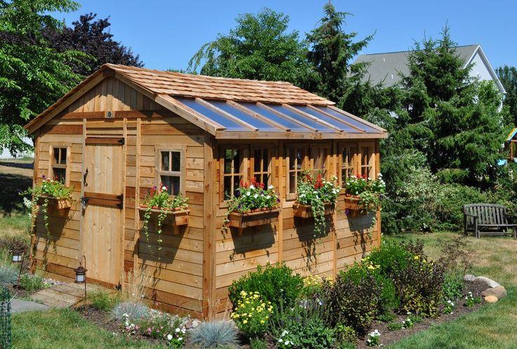 Sunshed 12 ft. W x 12 ft. D Wood Storage Shed