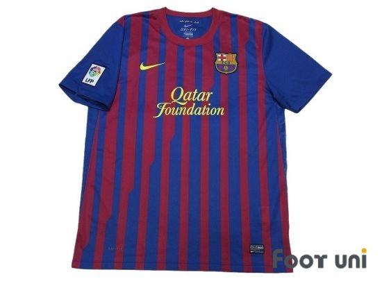 Barcelona 2011-2012 Home Shirt LFP Patch/Badge NIKE FIFA Club World Cup Barcelona Home Shirt - Football Shirts,Soccer Jerseys,Vintage Classic Retro - Online Store From Footuni Japan