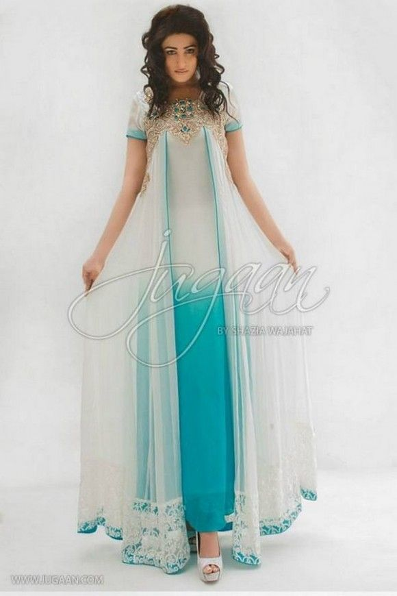 Dresses For Women : Fashions.com.pk Formal Wears | Semi Formal Wears | Casual Wears | Party Wears | Semi Formal Wear by Jugaan | Jugaan Collection 2013 | Jugaan | Semi Formal Dress for women | New Dress Designs by Jugaan | Party dress