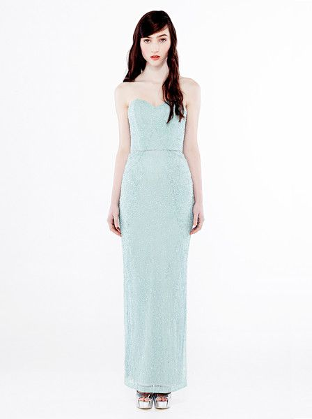 EILEEN KIRBY - Surefire Beaded Dress - Formal - Graduation - Beaded Gown - Teal  $749.90