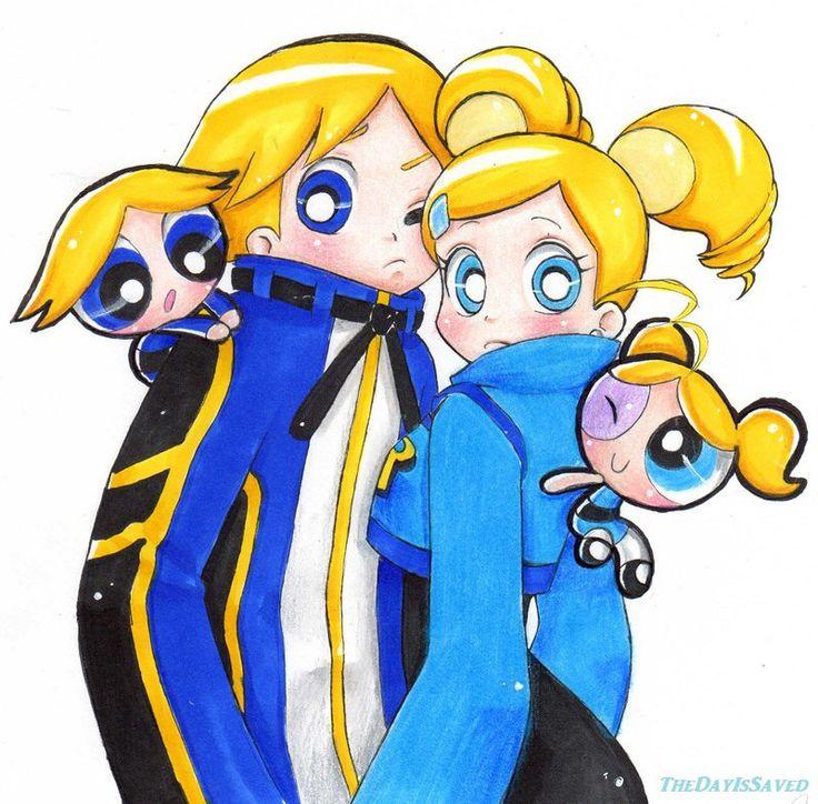 Powerpuff Girls: Bubbles and Boomer | Powerpuff girls ...