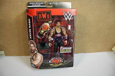 KEVIN NASH SIGNED WWE EXCLUSIVE Mattel Toy Wrestling Action Figure NWO