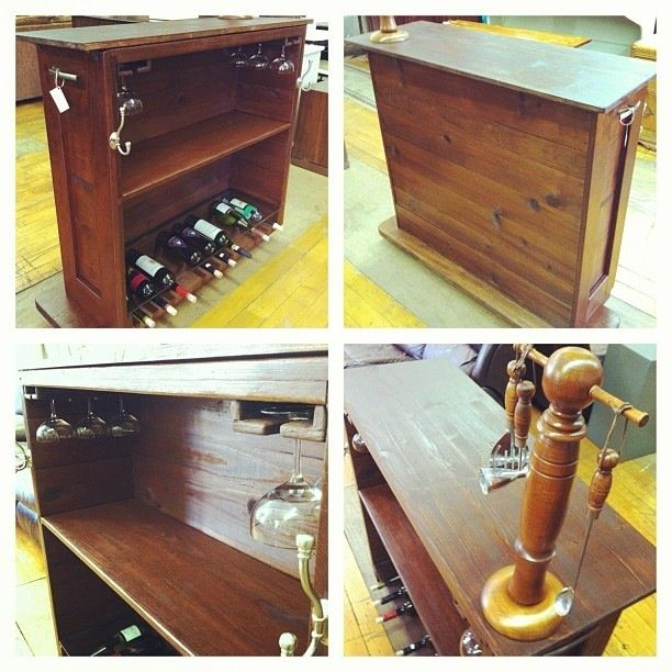 Man Cave Bar Cart : Best images about wood ammo crate projects and ideas on
