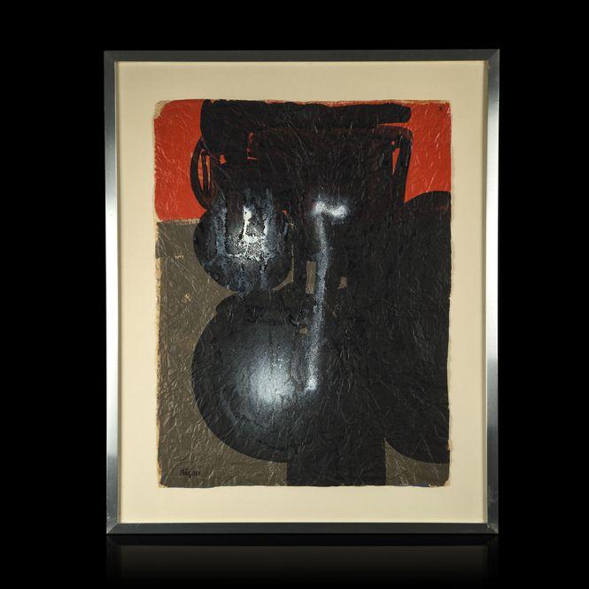 Ladislas Kijno. Composition, work on paper > #BuyArtOnline > Expertissim