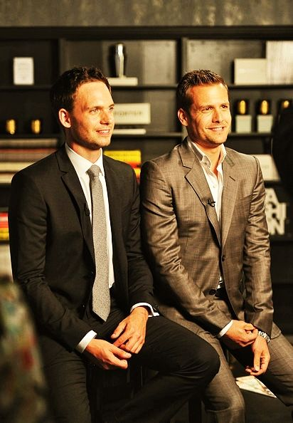 SUITS on USA: Patrick J. Adams/Gabriel Macht [6.12.2012]