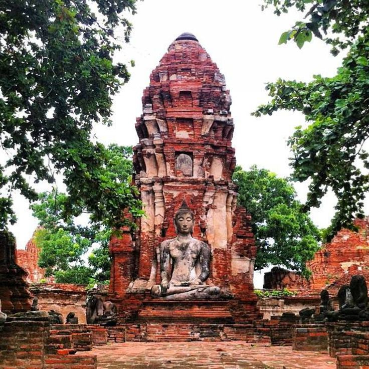 Phra Nakhon Si Ayutthaya, Ayutthaya, Thailand - Cultural day in #Ayutthaya, #Thailand. Seeing these makes me want to visit the Angkor Wat even more! #solotravel