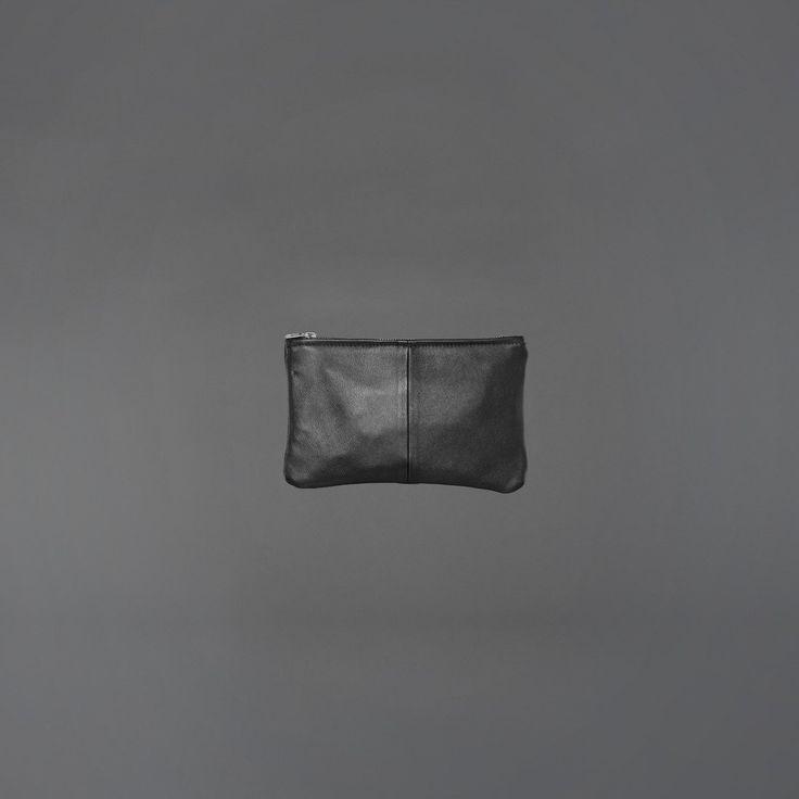 Ervin Latimer leather clutch