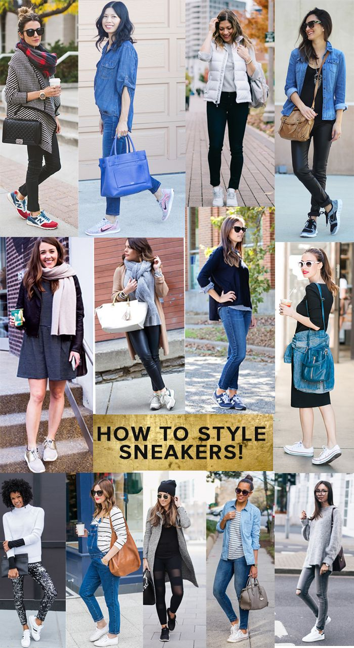 Facebook Twitter Pinterest Email Love This Flipboard It's official: sneakers are no longer exclusively for gym and fitness; they're chic and on trend for any occasion (ok, maybe not any occasion, but most.) Whether you're running errands with kids in tow, meeting up with friends in a pair of skinny jeans for lunch or grabbing brunch in a swingy dress, stylish sneakers are a  comfortable, go-to option this year. IMPORTANT TIP: Don't assume your regular workout/running sneaks transition. F...