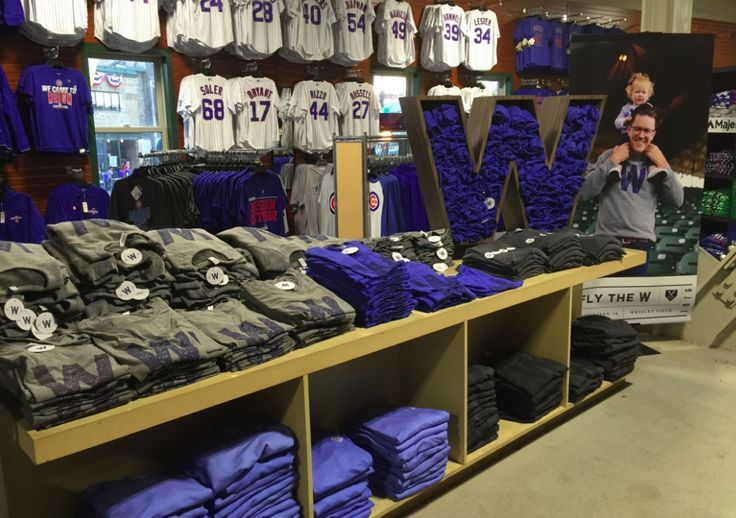 """A blue """"W"""" on a white flag is one of the oldest symbols of Chicago Cubs pride. Now it's starting to become a commercial boon at Wrigley Field."""