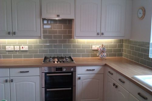 light wood kitchen cupboards black worktop google search fab