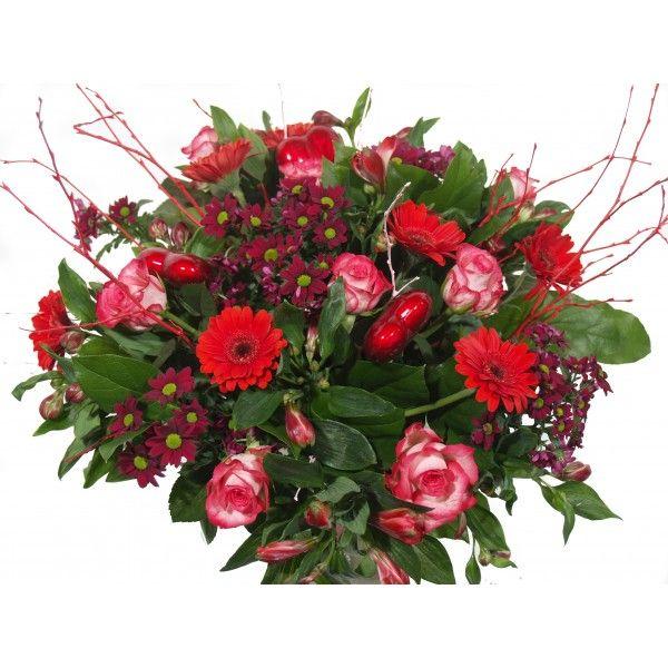 Prachtige bloemen bezorgen voor Valentijn? Verstuur boeket Happy Valentijn en je lief zal verrast zijn! Het word met veel liefde en zorg voor u gemaakt.