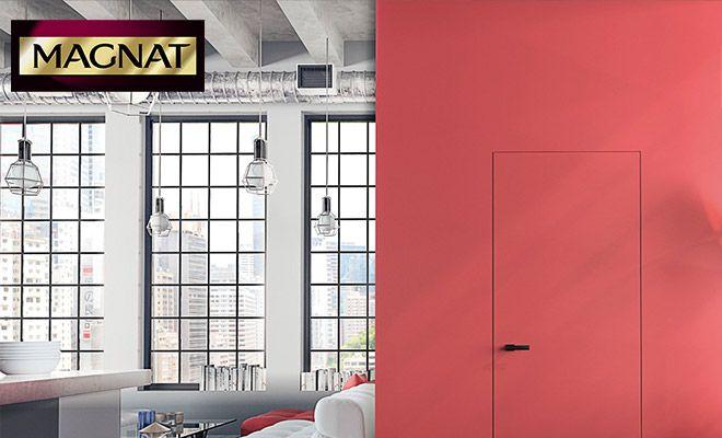 Masa ozdobna Beton MAGNAT Style do dekoracji ścian w salonie #tynkozdobny #beton #magnatstyle #masadekoracyjna #betonnascianie