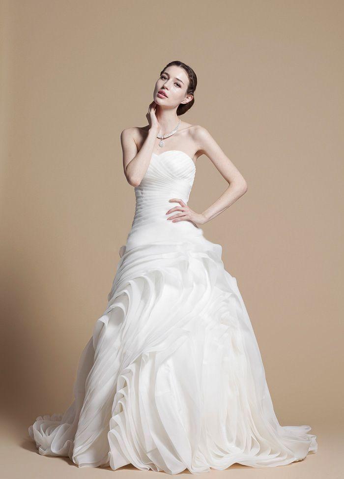 Gerald C Wedding Dresses : Wedding dress organza dresses beautiful cheap