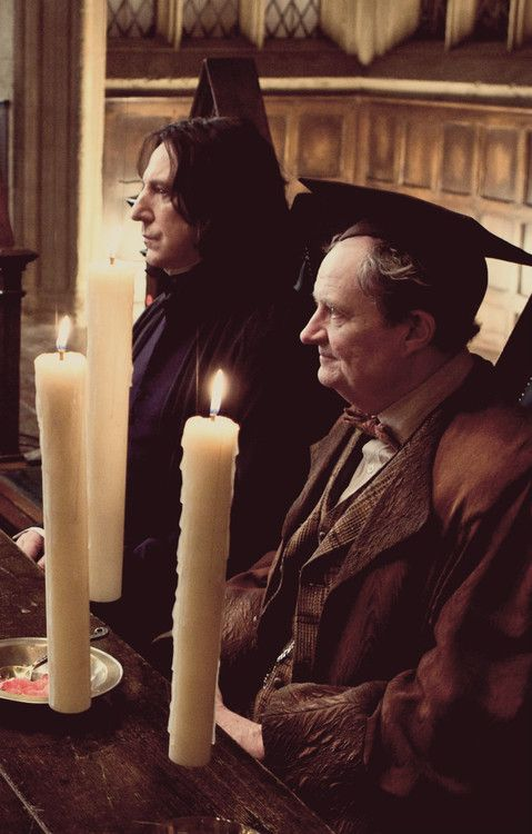 Two Potions Masters ~ Professor Snape and Professor Slughorn