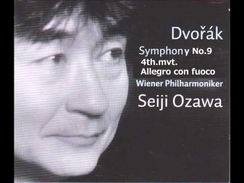 ドヴォルザーク 交響曲第9番「新世界より」第4楽章 小澤征爾指揮ウィーン・フィル - YouTube