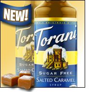 Hungry Girl: Salted-Caramel Syrup, Sleep & Your Diet, Microwaveable Finds.	  Spotted on Shelves...   Torani Sugar Free Salted Caramel Syrup .Purchase at BevMo! Cost Plus World Market
