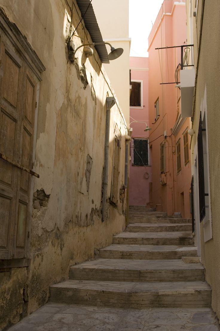 Syros, Greece alleyway