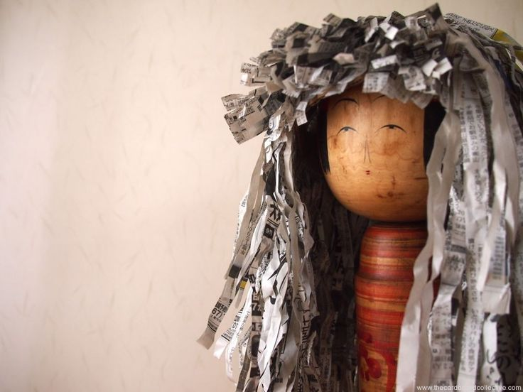 Newpaper Wig at The Cardboard Collective