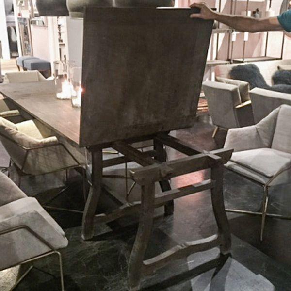 Обеденный раздвижной стол Lesotho Dining Table - Home Concept интерьерные магазины