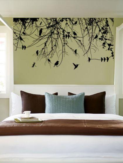 Baum Ast Blätter mit Vögel Wandtattoo Aufkleber (WD-0160) bei Yatego kaufen - Ein Angebot von Dee Plus Limited Partnership