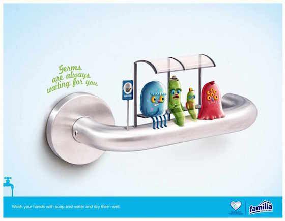 Operazione mani pulite: i germi sono in attesa