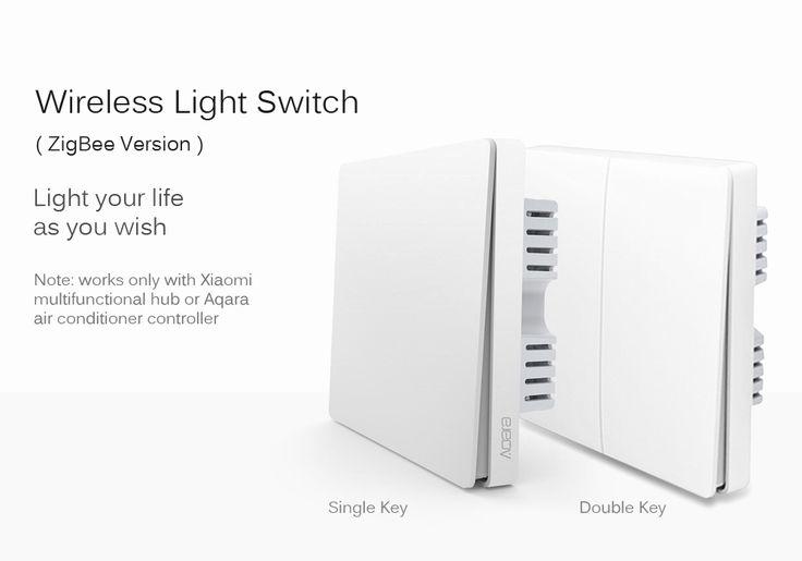 Xiaomi QBKG03LM Aqara Wall Switch ZigBee Version - DOUBLE KEY WHITE  $34.59