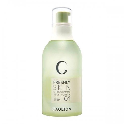 Freshly Toner Calming Detox Toner: Purify skin with natural prunus mume fruit water #caolion #cosmetics #beauty #michellephan #toner #detox #카오리온 #화장품 #뷰티 #화장품 #디톡스 #토너 #데일리
