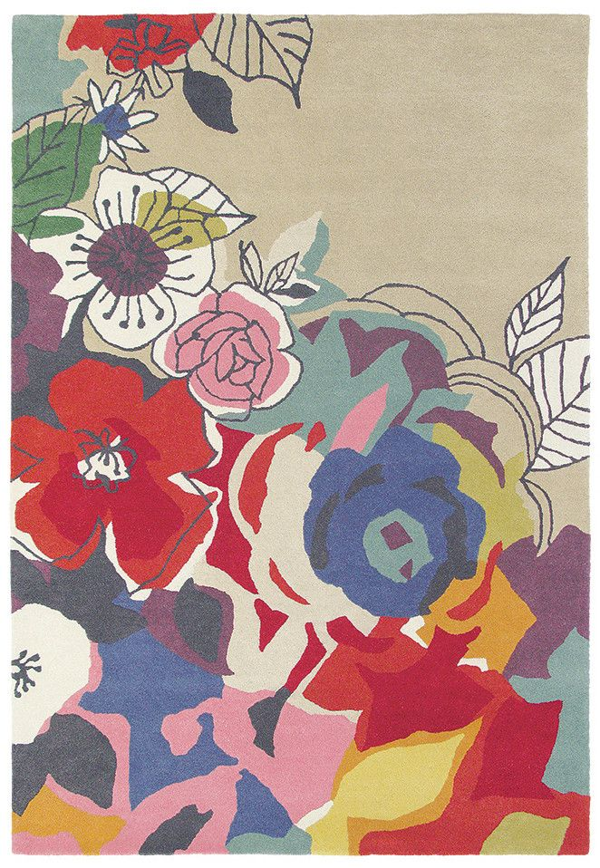 Brink & Campman Estella Ballad 88000 is a vibrant floral designer wool rug. Available now at Rugs Of Beauty: https://www.rugsofbeauty.com.au/collections/designer-rugs/products/brink-campman-estella-ballad-88000